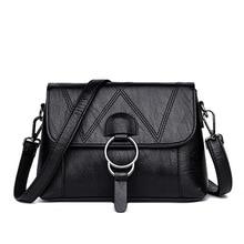 Elegant Leather Handbags Designer Luxury Bags for Women 2019 Women Crossbody Shoulder Bag Ladies Hand Bags Flap Sac A Main Femme