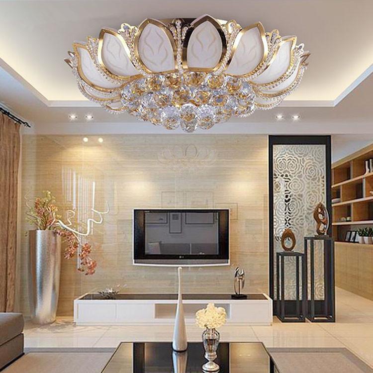 Gold Deckenleuchte-kaufen Billiggold Deckenleuchte Partien Aus ... Moderne Deckenleuchten Fur Wohnzimmer