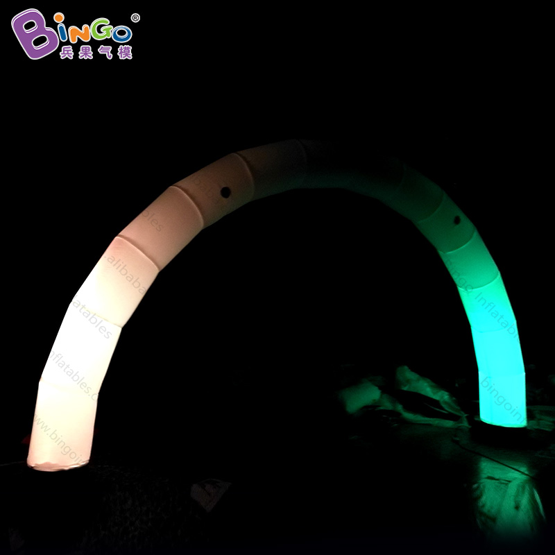 2019 HOT SALES 6x3mh inflatable lighting LED arch advertising item custommade for decorating entrance in shop sales free postage2019 HOT SALES 6x3mh inflatable lighting LED arch advertising item custommade for decorating entrance in shop sales free postage