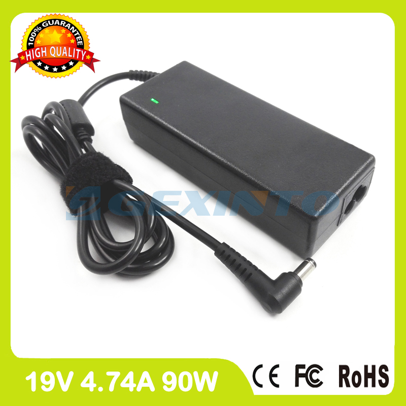 19V 4.74A 90W Laptop Charger Ac Adapter PA-1900-42 For Asus M6862N N50T N53T N73J P53F Pro31J Pro52RL Pro5I Pro71K