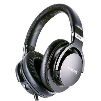 Original Takstar PRO82/pro 82 Professional Monitor Headphones HIFI Headset For Stereo,PC Recording K Song Game,bass Adjustable