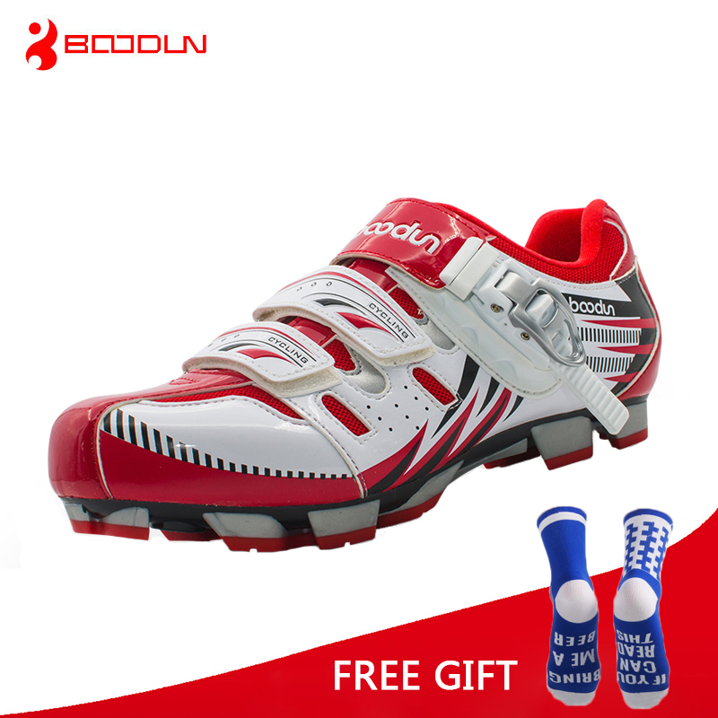 Boodun Professional Athletic Bicycle Shoes MTB Cycling Shoes Men Self Locking Bike Shoes sapatilha ciclismo MTB