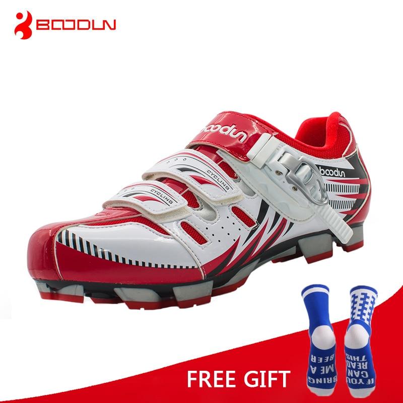 Boodun מקצועי נעלי אופניים אתלטי MTB אופניים אופניים נעליים גברים נעל אופניים Sapatilha ciclismo MTB