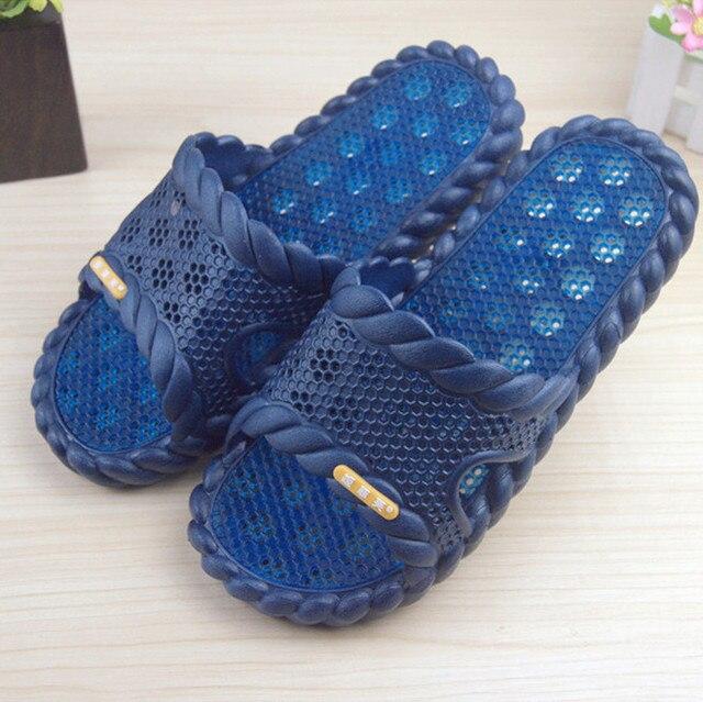 Утечки воды сандалии прямой противоскользящих пара любителей на дому обуви густой интерьер ванной тапочки купаться утечки воды сандалии