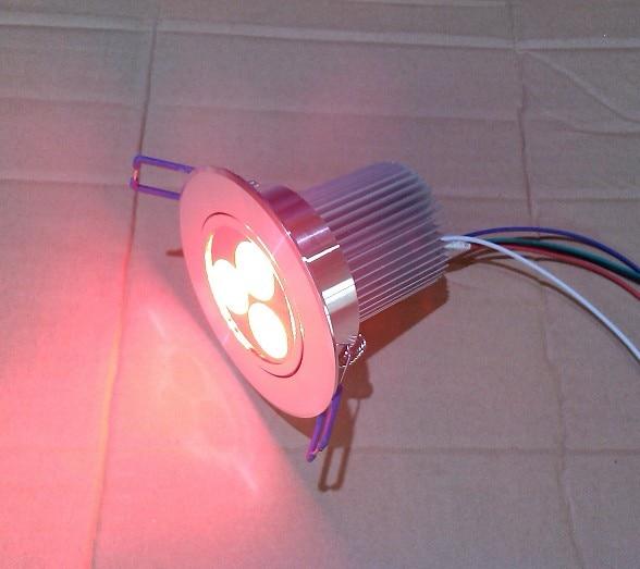 անվճար առաքում Եվրոպա RGBW 4in1 3X4W LED - LED լուսավորություն - Լուսանկար 3