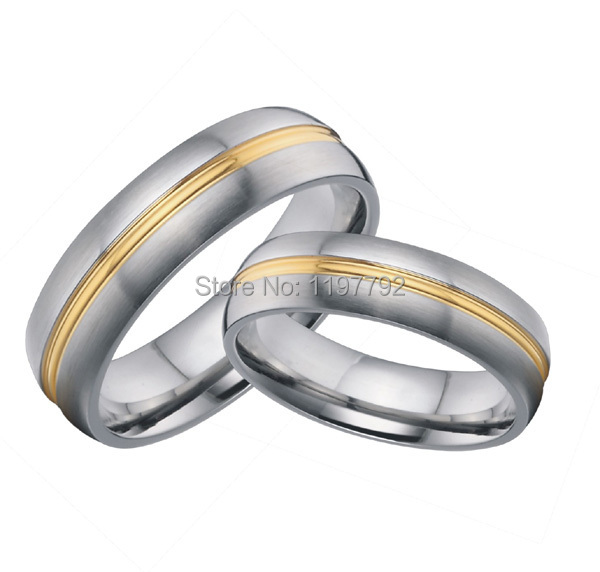 2 pieces homosexual gay and lesbian marriage pride jewelry gifts pure titanium engagement wedding bands promise - Gay Wedding Rings