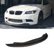 3 серии, передний спойлер из углеродного волокна для BMW E90 E92 E93 M3 2009-2012, GT-S, стильный передний бампер, защита для подбородка автомобиля