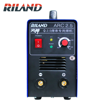 RILAND ARC 2.5 MINI House Hold ARC Welding Machine  220V DC Inverter MMA Welding Machine inverter dc argon arc welding machine base plate with high silicon bridge arc plate clamp configuration of four new capacitance