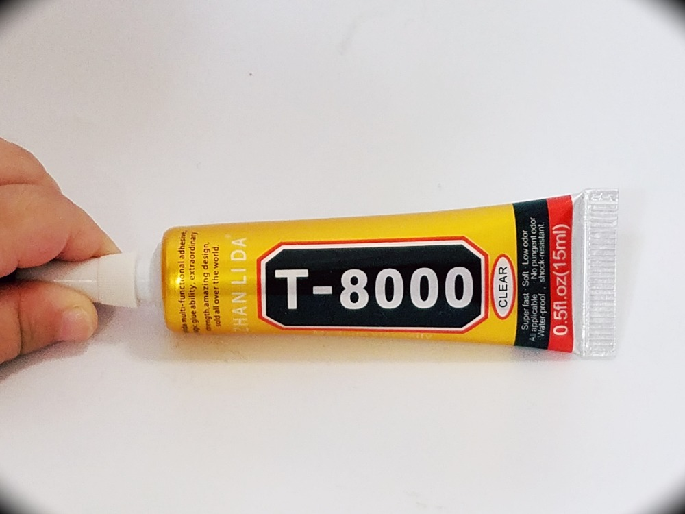 15ml <font><b>T8000</b></font> Epoxy Resin <font><b>T8000</b></font> Multi Purpose LED Phone Screen Shell Repair Liquid Glue DIY Tools Better Than B-7000 Sticky image