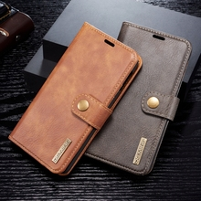купить Flip Book Case For Coque Samsung Galaxy S10 Plus Leather Wallet Phone Cover For Samsung Galaxy S8 S9 S10 Plus S7 Edge S10e Case дешево
