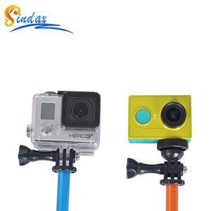 Image 5 - 防水一脚三脚拡張可能な一脚 Selfie スティック一脚用 xiaomi yi 4 18k II 2/SJ4000 移動プロ hero 8 5 6 7