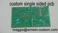شحن مجاني 1 قطعة مخصص لوحة دارات مطبوعة خدمة أفضل واحد الوجهين pcb fr4 pcb من PCB تصنيع