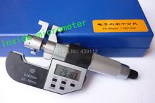 Promo offer Free shipping Electronic digital inside micrometer caliper 25-50mm,0.001mm , high quality  internal micrometer