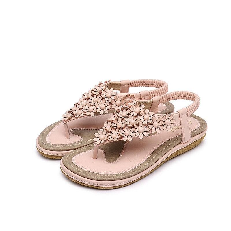 Gradient Las c2 Yardas Mujeres Zapatos Verano Para c4 c3 Gray El Black De Sandalias Gray Planos 22015 Pink Brown C1 Brown Los c5 Grandes 6yFWRqvyw