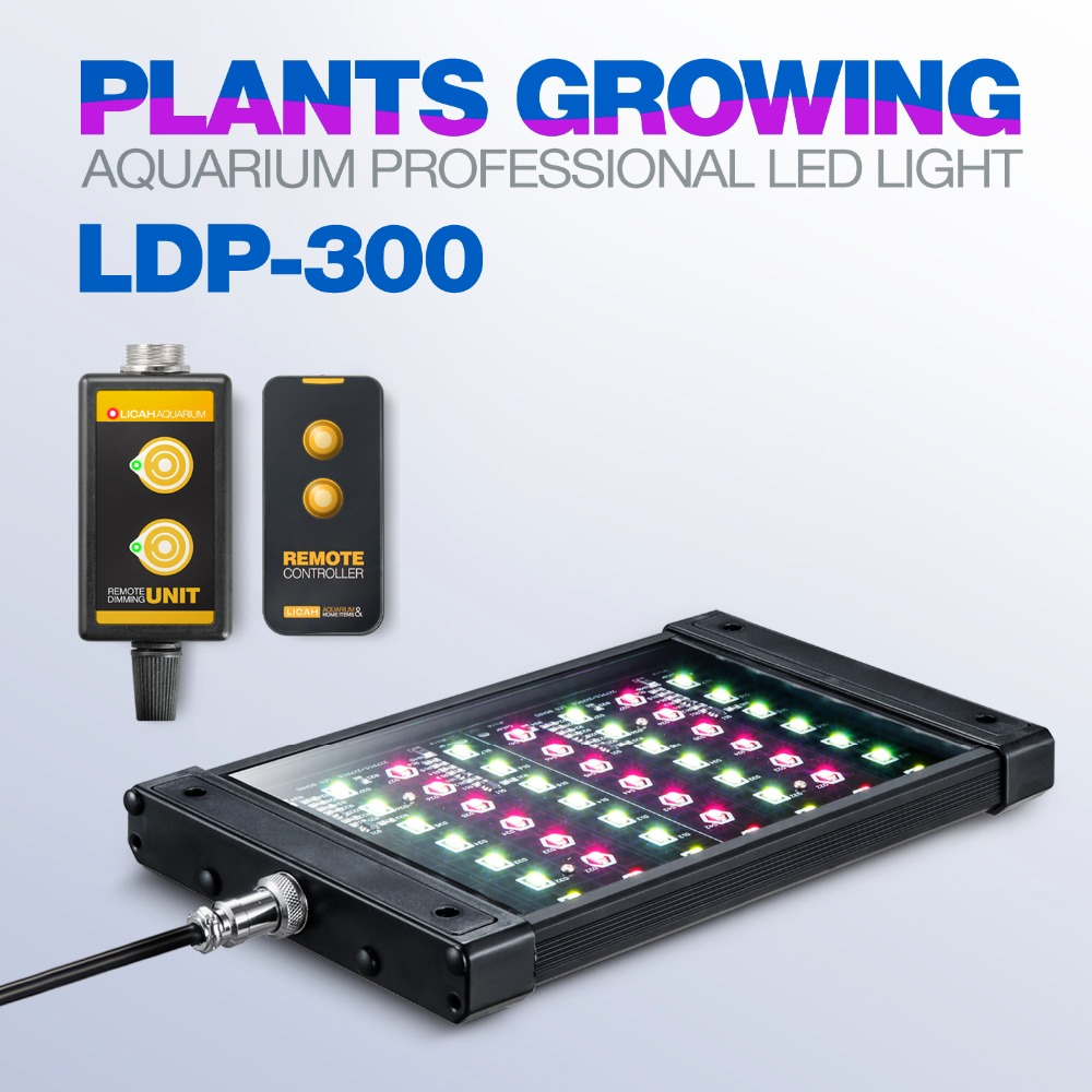 LICAH eau douce Aquarium plante lumière LED LDP 300-in Lightings from Maison & Animalerie    1
