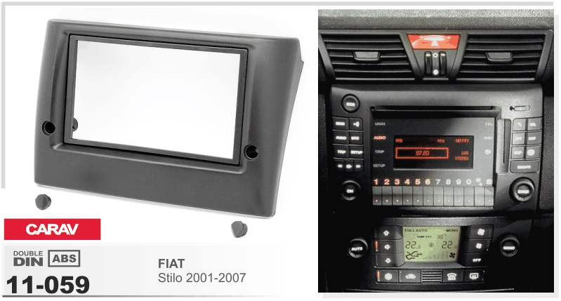 frame android 6 0 car dvd player for fiat stilo 2001 2007 multimedia stereo gps navigation. Black Bedroom Furniture Sets. Home Design Ideas