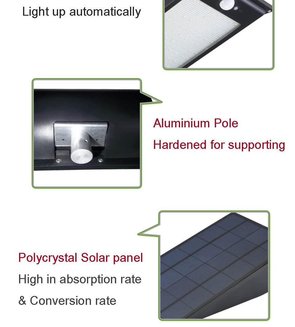Cheap led solar outdoor light