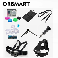 Orbmart 8 In 1 Gopro Accessories Kit For Go Pro HD Hero 4 3 3 2
