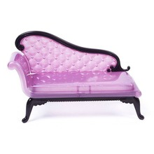 Mini for Barbie doll house furniture package plastic parts [chaise sofa chair] every family Toys