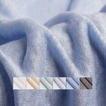 Pearlsilk hafif ince örme keten elastik % 100% keten giysi malzemeleri yazlık T shirt DIY elbise kumaşlar ücretsiz kargo
