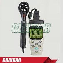 Sale TENMARS TM-401 Handheld Digital Multifunctional Anemometer, Air Velocity Meter