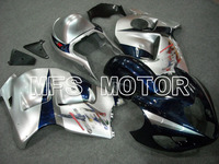 New ABS Fairing Injection Bodywork Kit Motorcycle For Suzuki GSXR1300 Hayabusa 1999 2007 99 07 Blue Siver A1