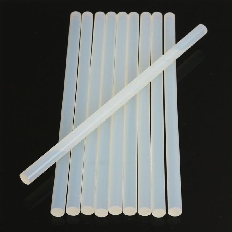 цена на 5Pcs 11mm Hot Melt Glue Stick For Heat Glue Gun High Viscosity Clear Adhesive Glue Sticks Repair Tool Kit DIY Hand Tool