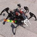 Человек-паук! Черный! шестиногий робот, 6 футов роботов, 20DOF + Механические когти, piders робот структура Алюминиевого сплава биомиметических робот