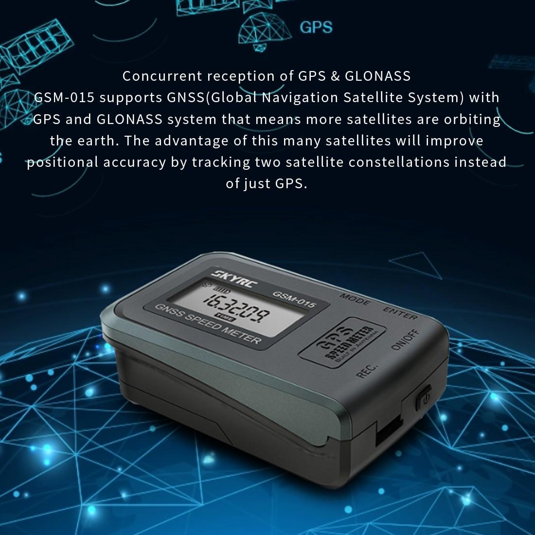 Nieuwe SKYRC GNSS GPS Speed Meter GSM 015 Hoge Precisie GPS Snelheidsmeter voor RC Drone FPV Multirotor Quadcopter Helicopter-in Onderdelen & accessoires van Speelgoed & Hobbies op  Groep 3