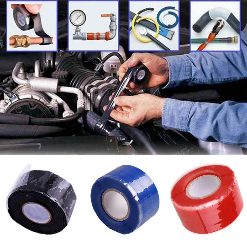 Silicone Rubber Self Fusing Tape Insulation Tape For Nautical Rigging, Metal Equipment, Power System Emergency Repair Z