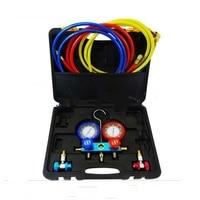 manifold gauge set R134a 134a R22 R12 R410a for auto air conditioning tool