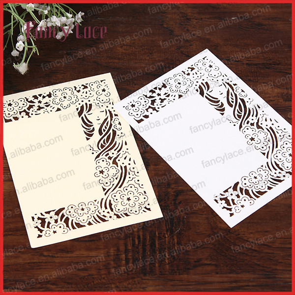 Hot Sale 2017 DIY GIRL Design Customized Birthday Invitation Card
