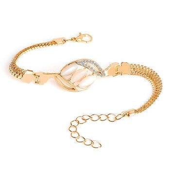 Women's Pretty Cat Eye Stone Bracelet