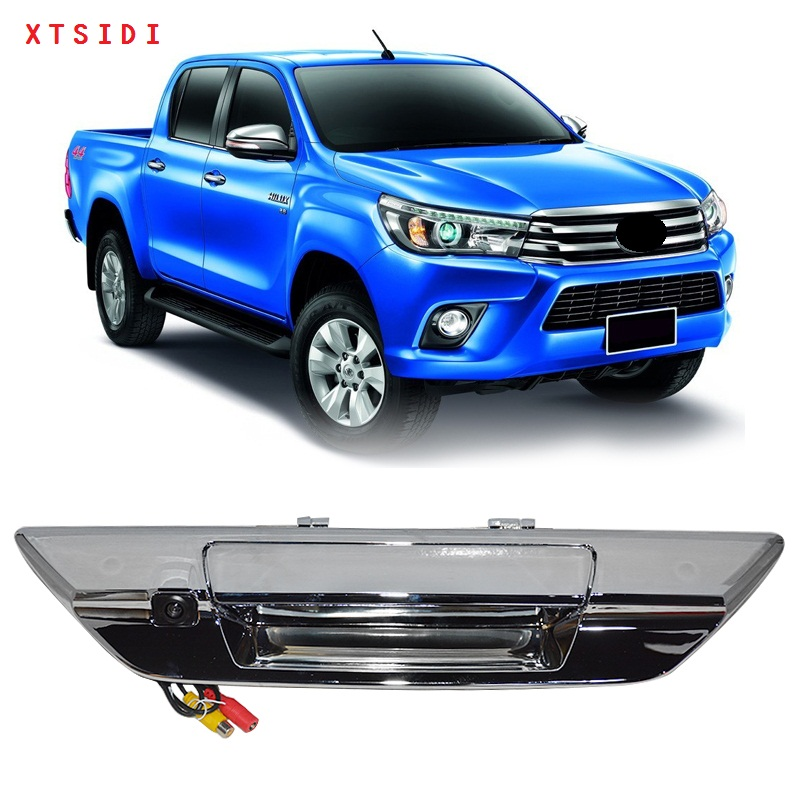 XTSIDI PARKING CAMERA REARVIEW CAR CAMERAS FIT FOR TOYOTA HILUX REVO 2015-2017 CAR high quality 10pa15c ac compressor for car toyota hilux revo dsl 447170 2721 4471702721