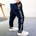 Boys jeans 2016 autumn new Children boys jean pants long length Fashion harem denim trousers for kids girls