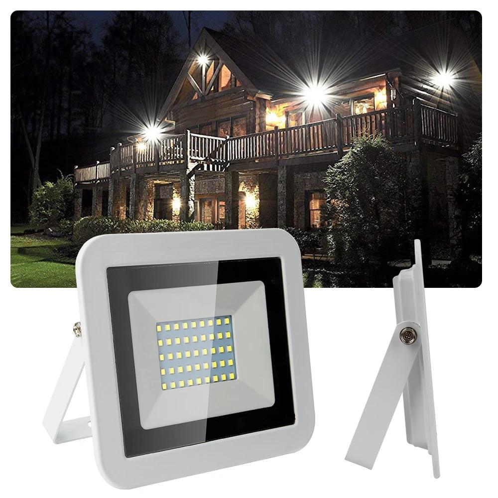 Hotel Cartelera Garaje 1PC 50W LED Luces De Inundaci/ón IP65 5000lm Luces De Seguridad Impermeables Iluminaci/ón Exterior Para Jard/ín Paisaje