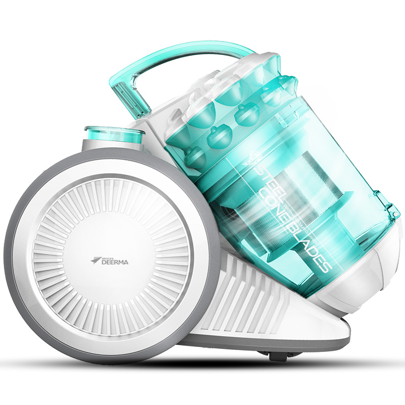 Canister Dry Vacuum Cleaner Household Ultra-quiet Hand-held Cleaning Machine for Carpet Mini Vacuum Cleaner with Strong Suckion deerma acarid killing machine mini portable hand hold ultraviolet sterilization vacuum cleaner 350w strong suction cm900