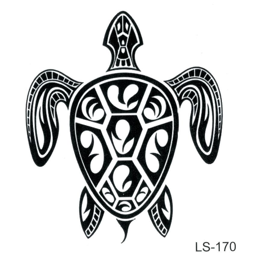 Cuckold Waterproof Temporary Tattoo Sticker Tortoise Fake Tattoo Tatuagem Tatoo  Animals Tatouage Temporales A Prueba De Agua