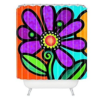 Memory Home Customized Shower Curtain Steven Scott Cosmic Daisy In Purple  Waterproof Polyester Fabric Bathroom Shower - Online Get Cheap Shower Curtains Purple -Aliexpress.com Alibaba