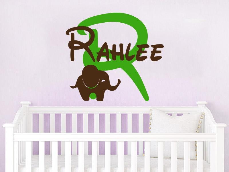Baby Name Wall Art baby names wall art promotion-shop for promotional baby names wall