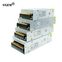 SXZM LED trafo için AC100-240V DC12V8.5A 10A 15A 20A kapalı 3528 5050 5730 led şerit ışık için güç kaynağı