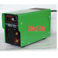 IGBT Inverter Electric AC 110v/220v Welding Machine,Duplicate Portable MMA 200 ARC STICK Welders Welding Machines 2.5mm Electrod