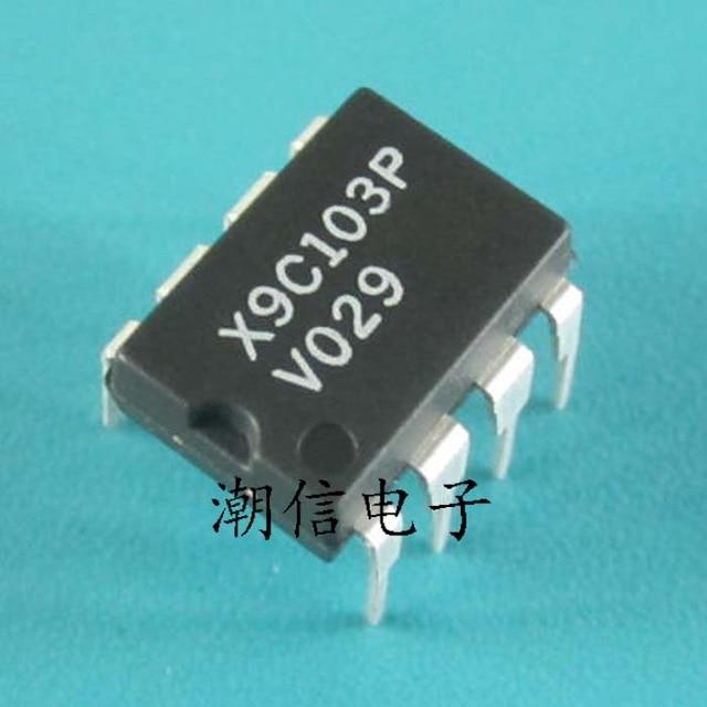 10pcs/lot X9C103P X9C103 DIP-8 In Stock
