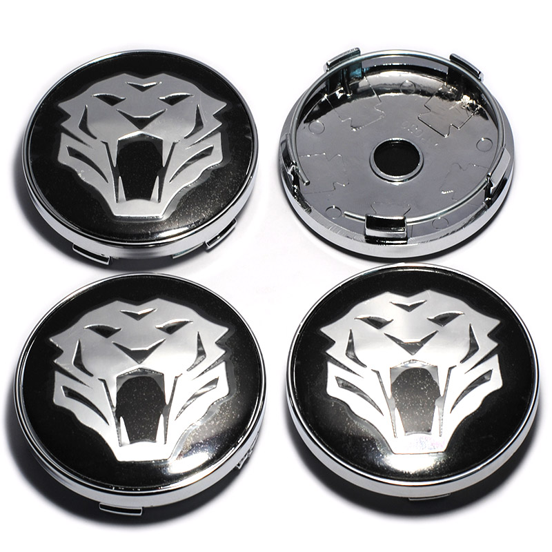 4Pcs/lot 60mm Tiger Head Car Wheel Center Hub Cap Hubcap Emblem Badge Decal for Jaguar Audi BMW Nissan Toyota Mazda Car Styling недорго, оригинальная цена