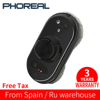 PhoReal FR S60 Window Cleaning Robot High Suction Electric Window Cleaner Robot Anti falling Remote Control Robot Vacuum Cleaner