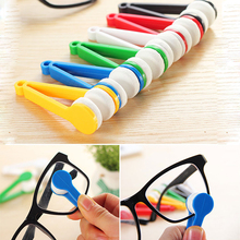 F Random Glasses dedicated Convenience Cleaner Super Fine Fiber Clean Power Portable Rub With Key Ring