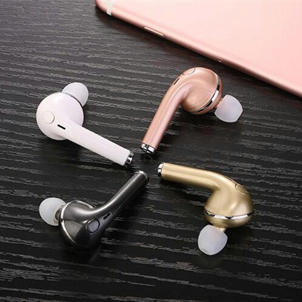 Mini Portable In-ear Wireless Bluetooth 4.1 Earbuds Hands Free Car Music Sport Earphones Headset For Iphone,Xiaomi,Mp3,Meizu,HTC m410 3 5mm in ear bass earphones headphones music headset earbuds with microphone for iphone samsung xiaomi huawei htc mp3