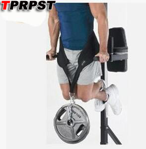 TPRPST Fitness Equipment Dip Belt Weight Lifting Gym Body Waist Strength Training Power Building Dipping Chain Pull Up P20123