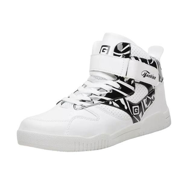 Büyük Boy 39-46 Ayakkabı Erkekler Sneakers Justin Bieber Erkek Botları Süper Yıldız Hip Hop Ayakkabı Erkekler Yüksek Top ayakkabı Erkekler rahat ayakkabılar DropShip