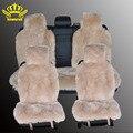 1 Unidades larga de lana fundas de asiento de coche de piel sintética cubre 5 colores talla universal para todos los tipos de asientos para renault logan para dacia duster